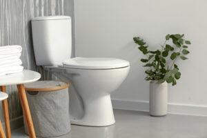 Staand toilet bevestigen