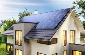 Elektriciteit opwekken met zonnepanelen