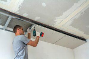 Verlaagd plafond aanbrengen kun je makkelijk zelf