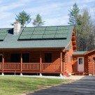 Natuurleistenen op het dak als energie-opwekker
