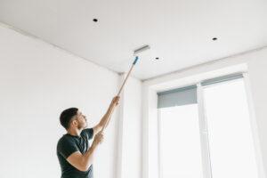 Het plafond witten; zo doe je dat!