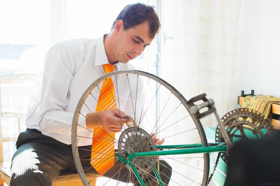 fietsband lek