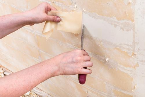 Glasvlies Behang Badkamer : Tien tips voor glasvezelbehang verwijderen bouwsuper