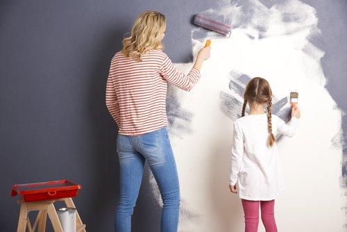 Tips voor het verven van een betonnen muur