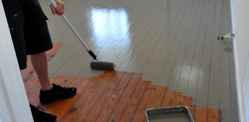 Houten Vloer Verven Gebruik Dit Handige Stappenplan