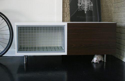 Voorkeur Zelf je konijnenhok maken: 5 voorbeelden van DIY konijnenhokken  @GR09