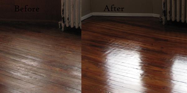 Een houten vloer schilderen
