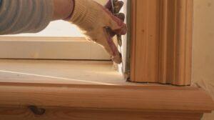 Stap 3 Oude glaslatten verwijderen en schoonmaken