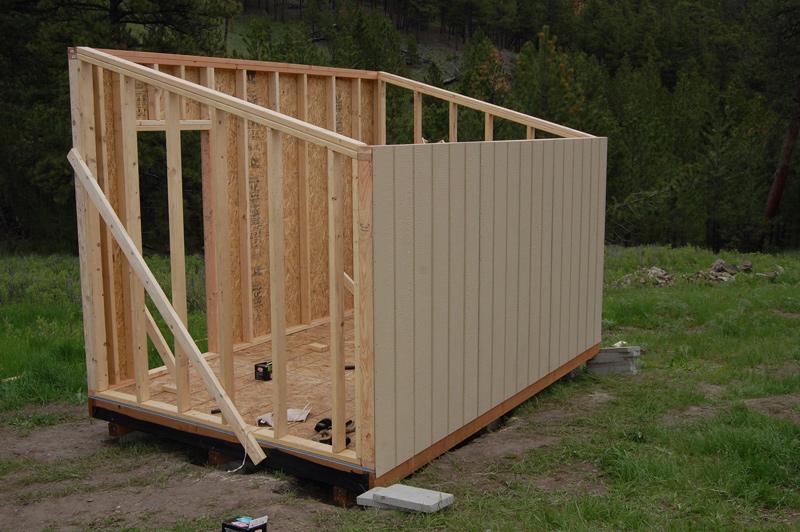 Aan het bouwen