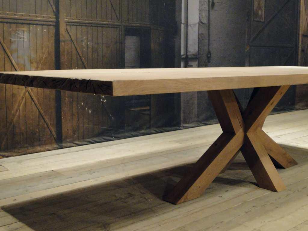 Houten Boomstam Tafel : Zelf je boomstamtafel maken een stappenplan bouwsuper