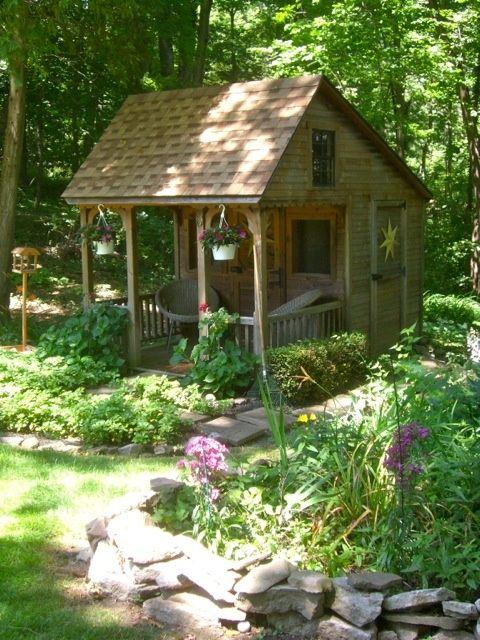 Prachtig tuinhuisje