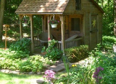 Zelf Tuinhuis Bouwen : Zelf een tuinhuisje maken in stappen bouwsuper
