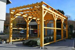 Stap 4 het maken van de dakconstructie