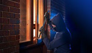 inbrekers buiten de deur houden