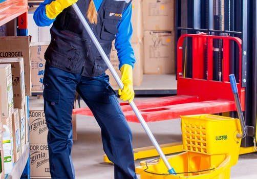 schoonmaken bouw