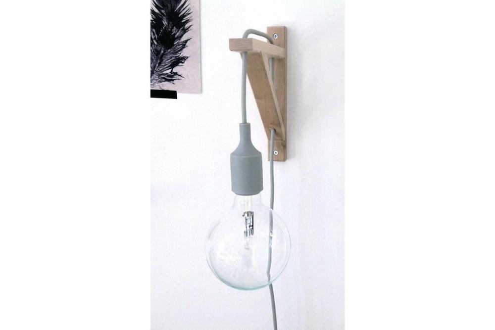 Wandlamp Ikea hack