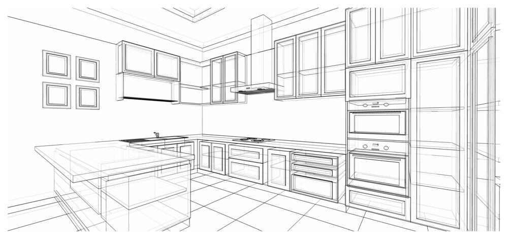 Tips voor het zelf ontwerpen van je keuken bouwsuper for Zelf je keuken ontwerpen