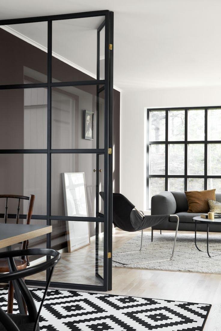 Trend van nu: een stalen deur in huis - Bouwsuper
