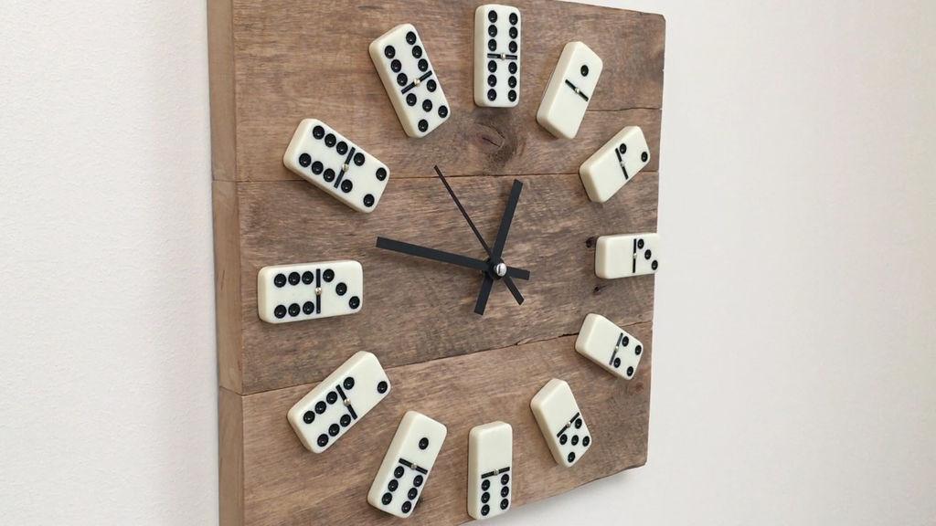 Een houten klok maken bouwsuper for Houten vijverbak maken