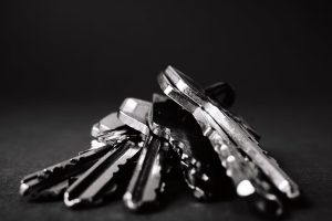 sleutels kwijt