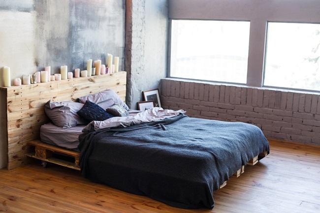 4. Een pallet bed maken