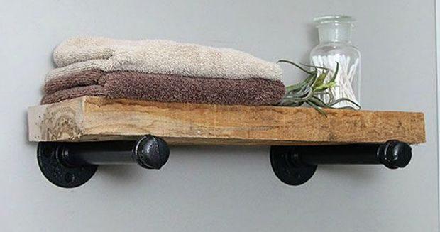 Diy Planken Inrichten : Een ophangsysteem maken met steigerbuizen voor planken bouwsuper