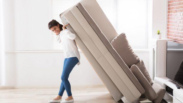 Grote meubels verhuizen