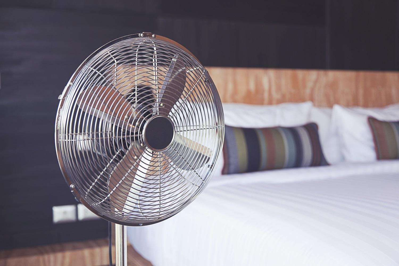 slaapkamer ventilator