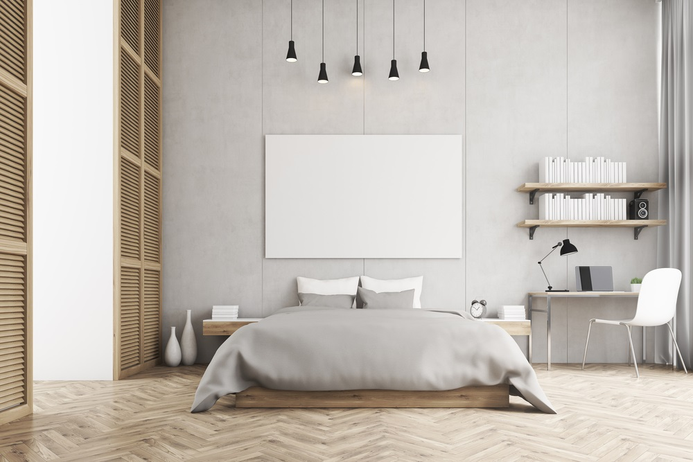 Kleur in slaapkamer