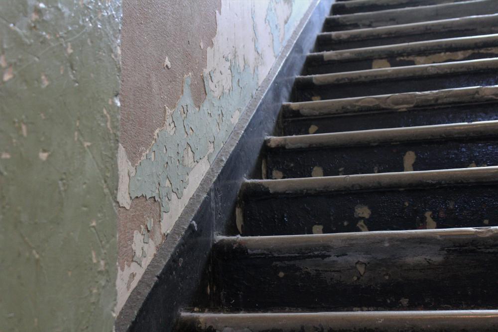Oude trap