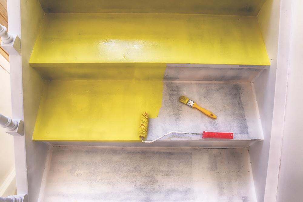 Trap schilderen