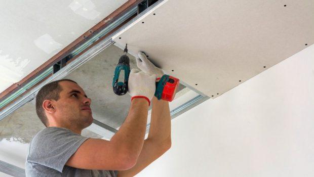monteren systeemplafond