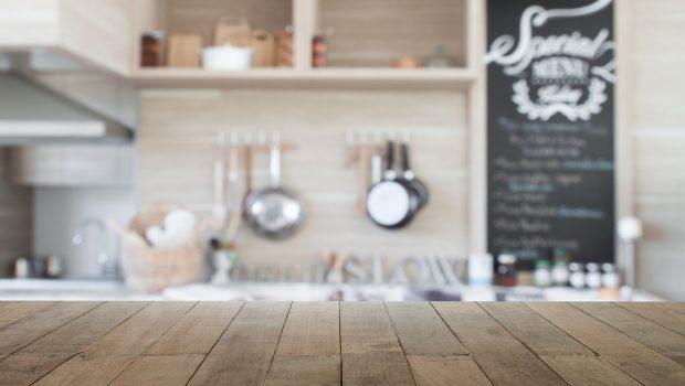 Beige Landelijk Keuken : Keukenwerkbladen voor een landelijke keuken bouwsuper