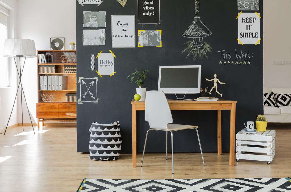 Creatief Scandinavisch kantoor