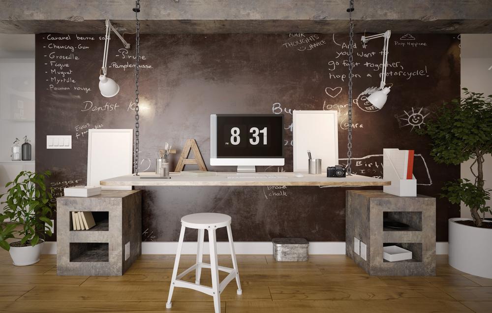 Creatief industrieel kantoor