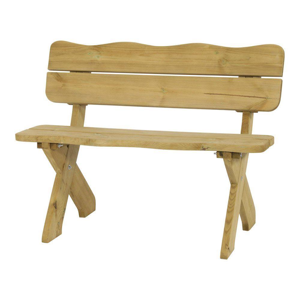 Tuinbank boomstam hout