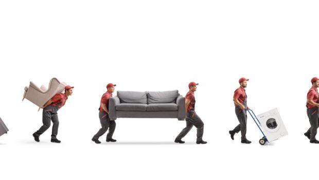 Uitzonderlijk Zware meubels verhuizen: 5 tips - Bouwsuper UW44