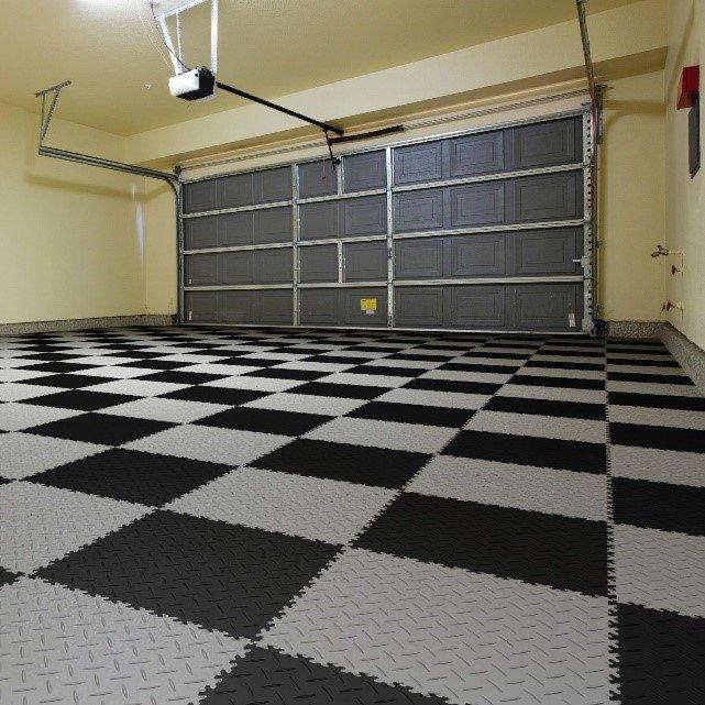 vinyl tegels garage