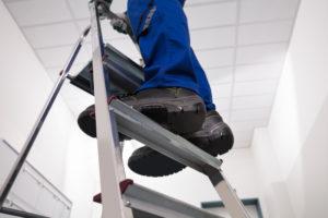 Ladder en huishoudtrapje