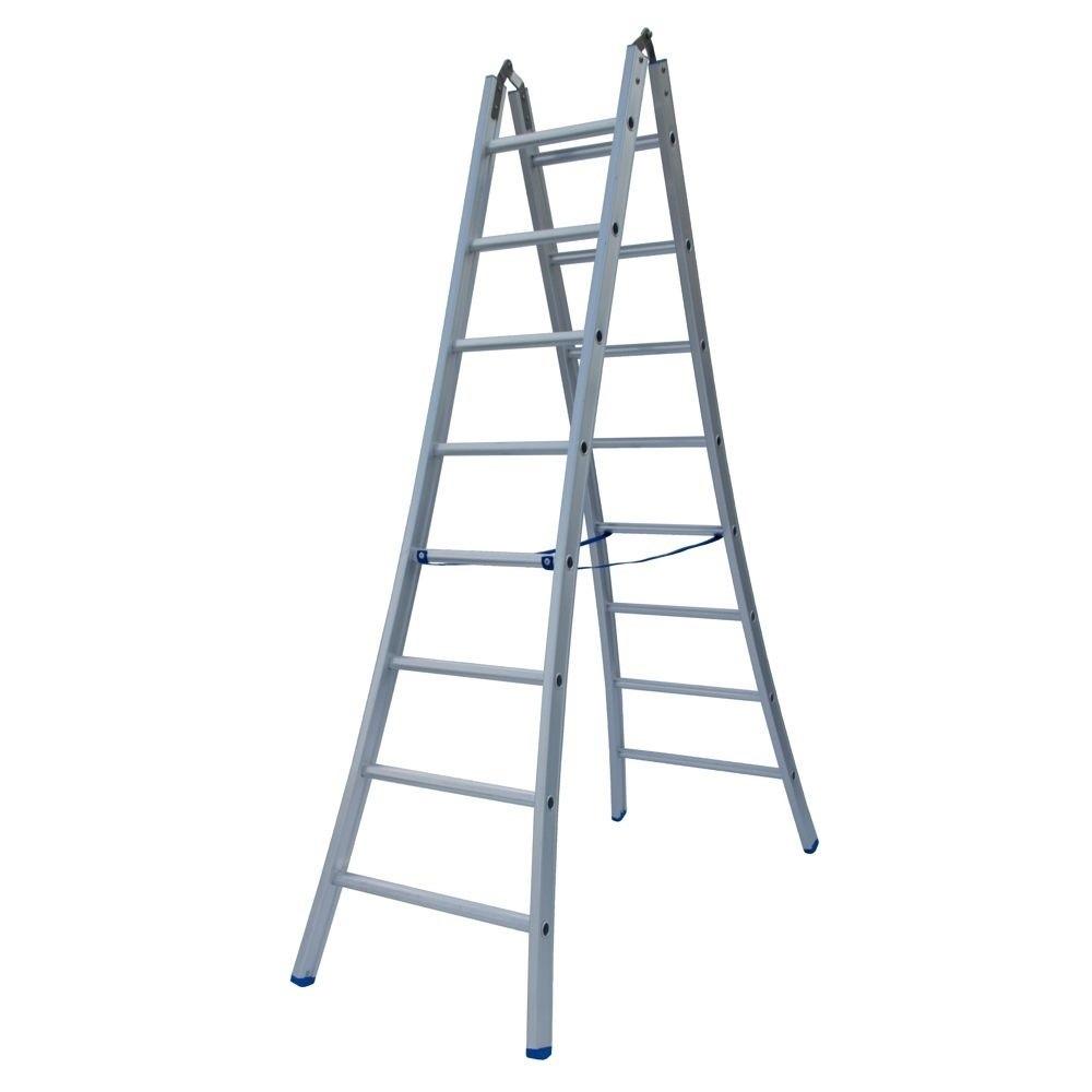 Een vrijstaande ladder