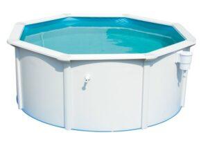 Stalen zwembad