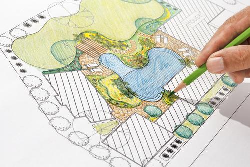 Een mooi plan maken voor de tuin