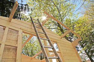 Maak zelf een dak op je tuinhuisje