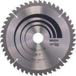 2. Bosch Cirkelzaagblad Optiline Wood 216 x 30 x 2,0 mm - 48 tanden