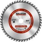 6. Kreator KRT020505 Universeel zaagblad 254 mm - 60T