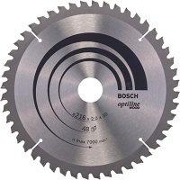 Bosch Cirkelzaagblad Optiline Wood 216 x 30 x 2,0 mm - 48 tanden