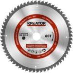1. Kreator KRT020504 Universeel zaagblad 210 mm - 60T