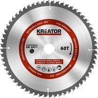 Kreator KRT020504 Universeel zaagblad 210 mm - 60T