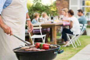 4 manieren van buiten koken in eigen tuin