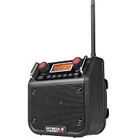 Perfectpro Mybox 2 Werkradio - Waterbestendig - Zwart